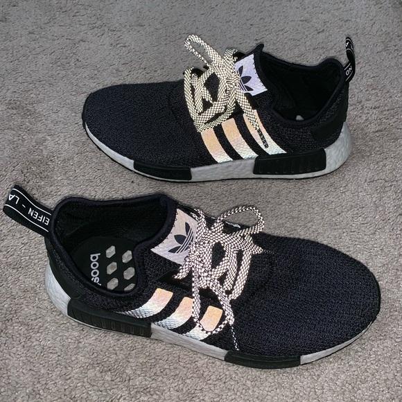 Adidas Nmd R Champs Black Reflective
